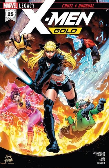 X-Men Gold Cover - 6/1/2018