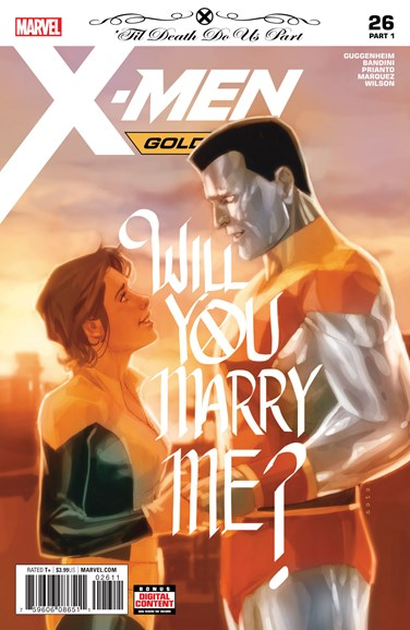 X-Men Gold Cover - 6/15/2018
