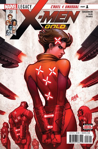 X-Men Gold Cover - 5/1/2018