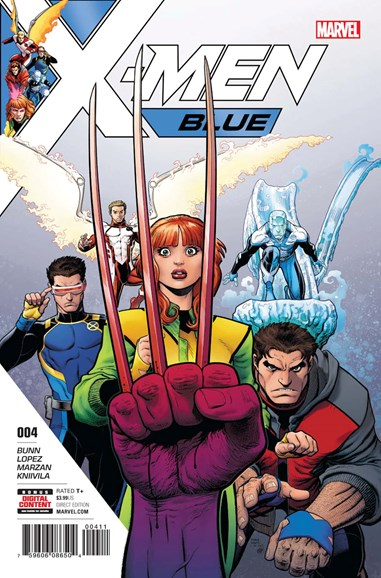 X-Men Blue Cover - 7/15/2017
