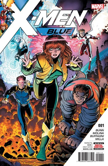 X-Men Blue Cover - 6/1/2017