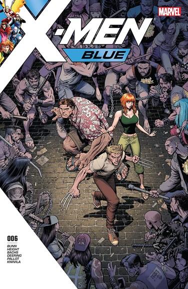 X-Men Blue Cover - 8/15/2017