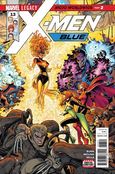 X-Men Blue Cover - 12/1/2017