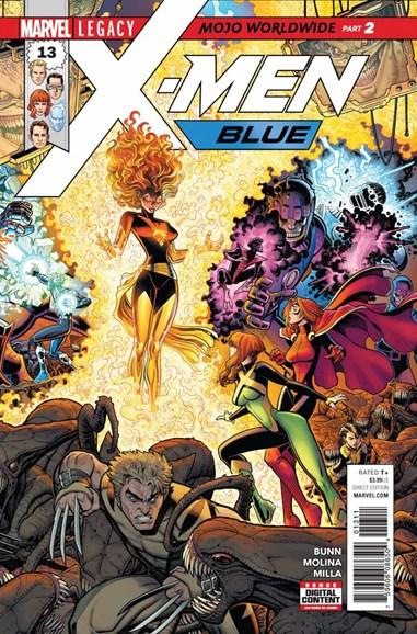 X-Men Blue Cover - 12/1/2017
