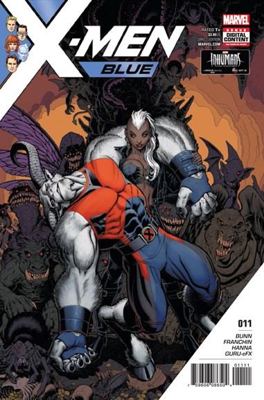 X-Men Blue Cover - 11/1/2017