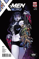 X-Men Blue Comic 11/15/2017