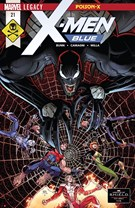 X-Men Blue Comic 4/1/2018