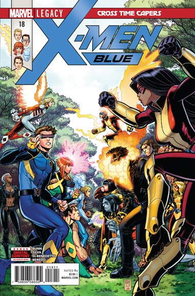 X-Men Blue Cover - 2/15/2018