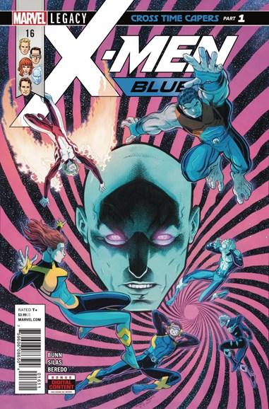 X-Men Blue Cover - 1/15/2018