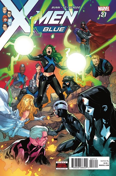 X-Men Blue Cover - 7/1/2018