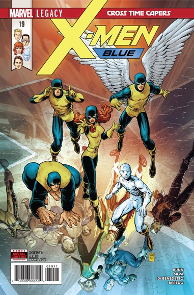 X-Men Blue Cover - 3/1/2018