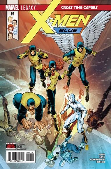 X-Men Blue Cover - 3/1/2018
