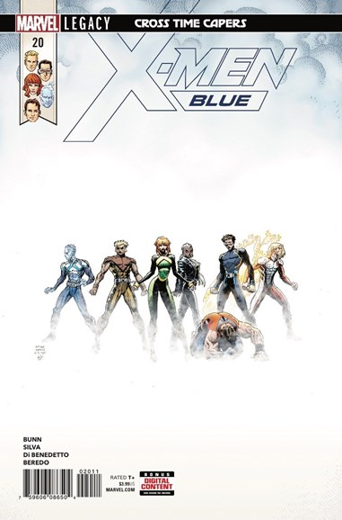X-Men Blue Cover - 3/15/2018