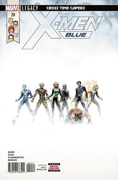 X-Men Blue Cover - 3/15/2018