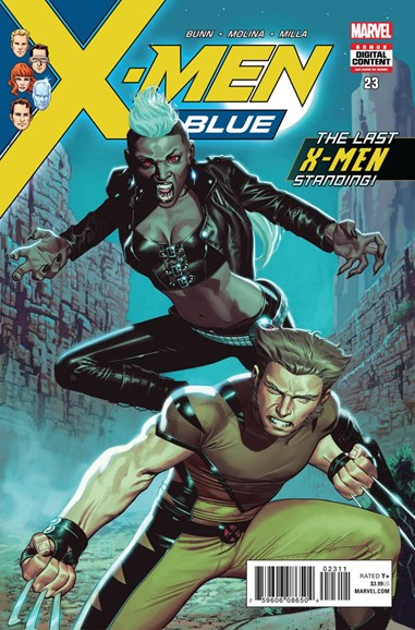 X-Men Blue Cover - 5/1/2018