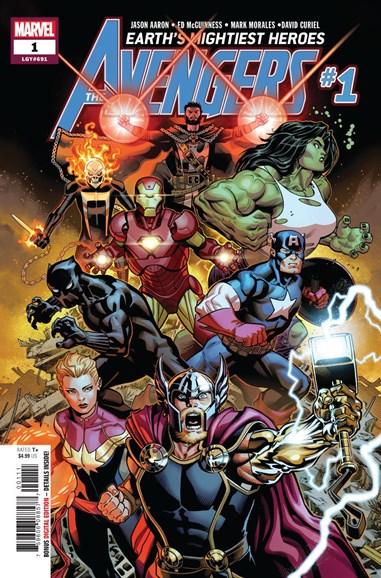 Avengers Cover - 7/1/2018