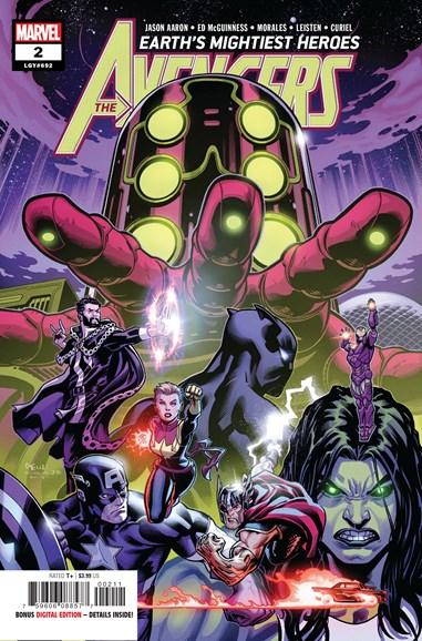 Avengers Cover - 7/15/2018