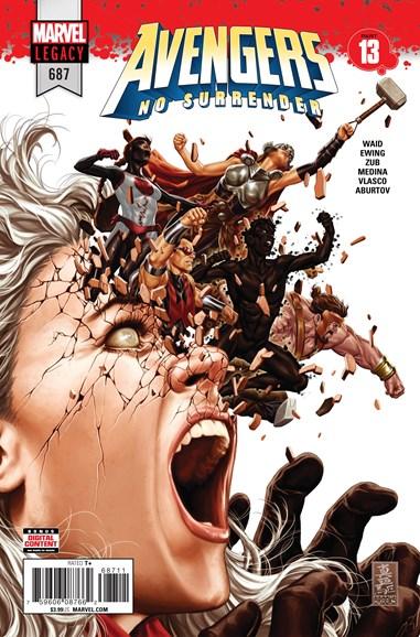 Avengers Cover - 6/1/2018