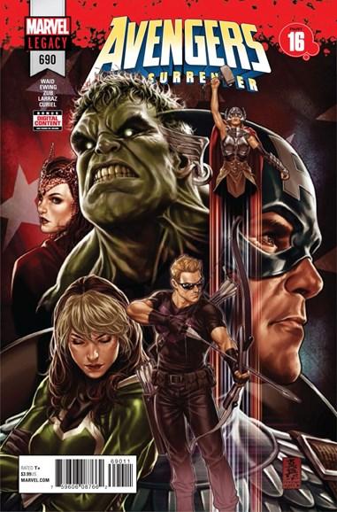 Avengers Cover - 6/24/2018