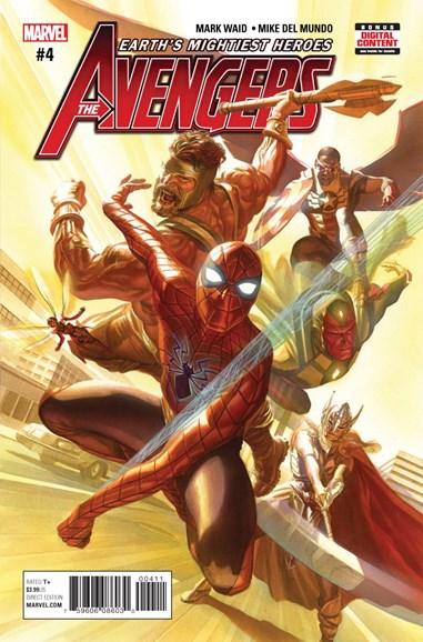 Avengers Cover - 4/1/2017