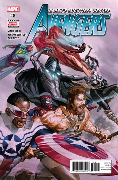 Avengers Cover - 8/1/2017