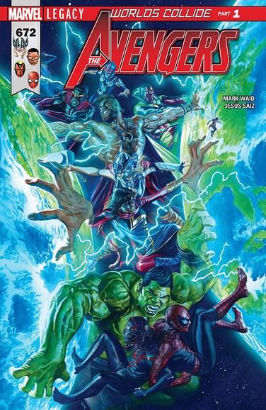 Avengers Cover - 12/1/2017