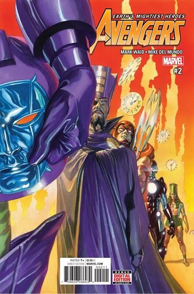 Avengers Cover - 2/1/2017