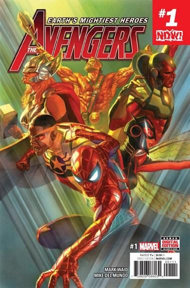 Avengers Cover - 1/1/2017
