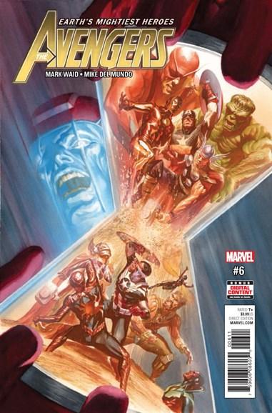 Avengers Cover - 6/1/2017