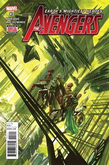 Avengers Cover - 3/1/2017