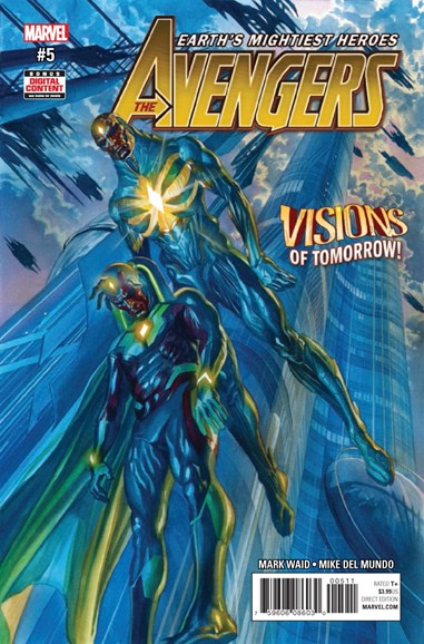 Avengers Cover - 5/1/2017