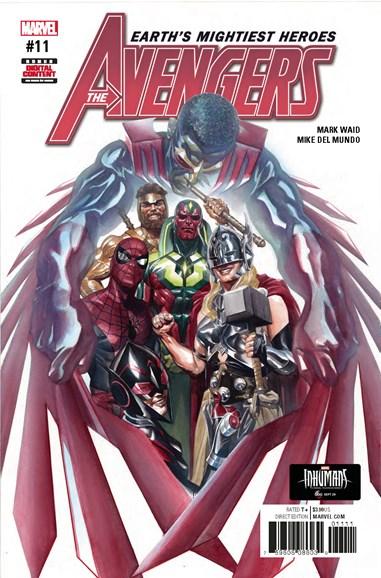 Avengers Cover - 11/1/2017