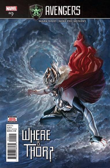 Avengers Cover - 9/1/2017