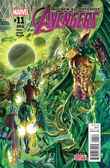 Avengers Cover - 8/15/2016