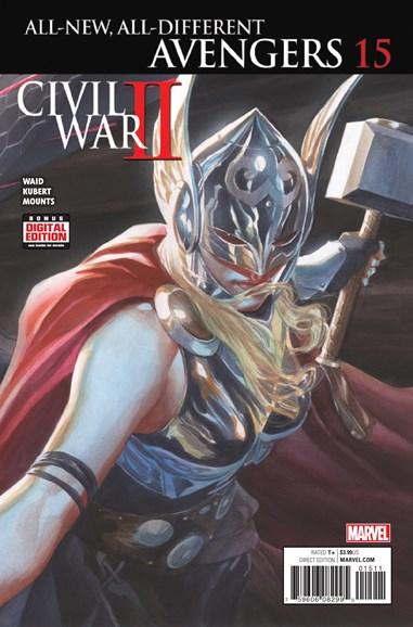 Avengers Cover - 12/1/2016