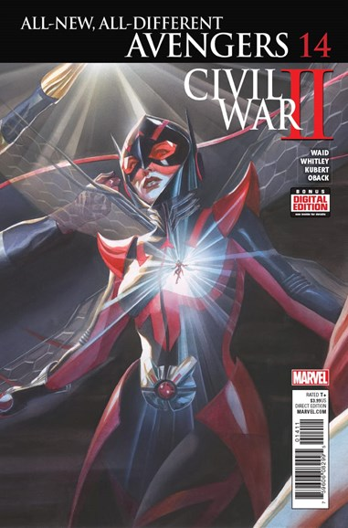 Avengers Cover - 11/1/2016