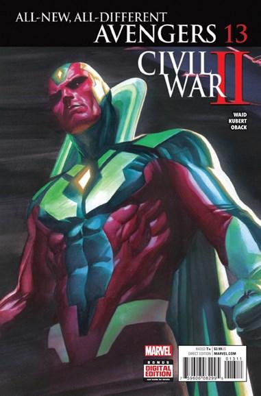 Avengers Cover - 10/1/2016