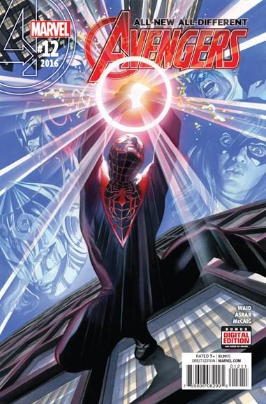 Avengers Cover - 9/1/2016