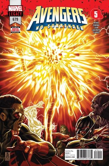 Avengers Cover - 4/1/2018