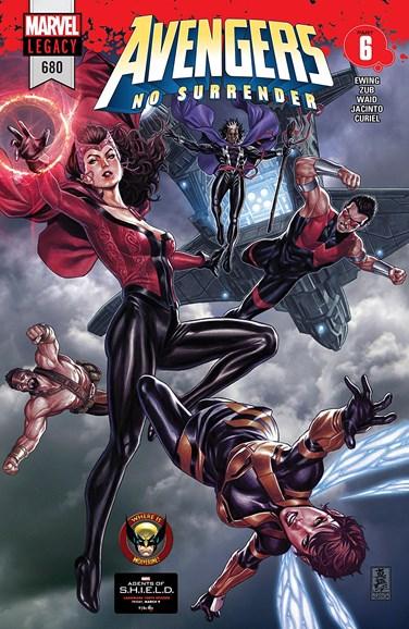 Avengers Cover - 4/8/2018