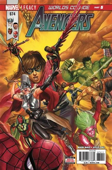 Avengers Cover - 2/1/2018