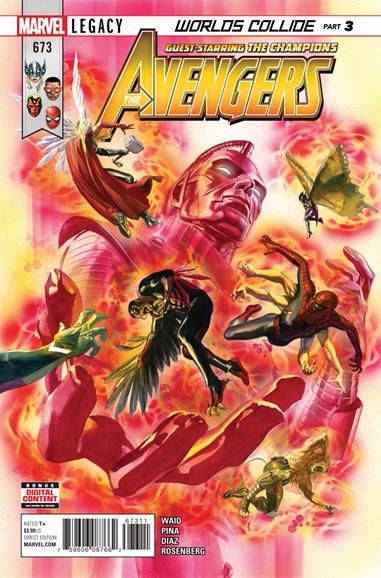 Avengers Cover - 1/1/2018