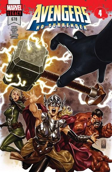 Avengers Cover - 3/15/2018
