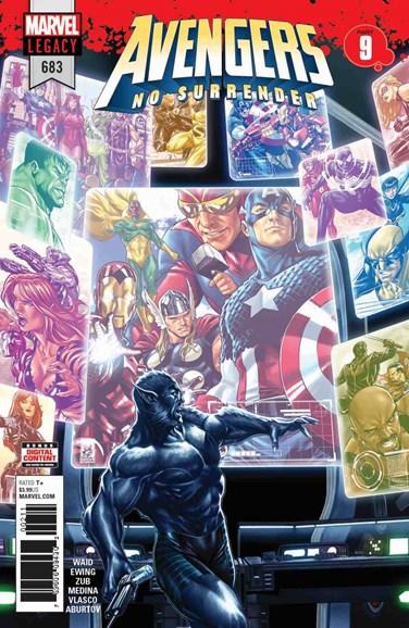 Avengers Cover - 5/1/2018