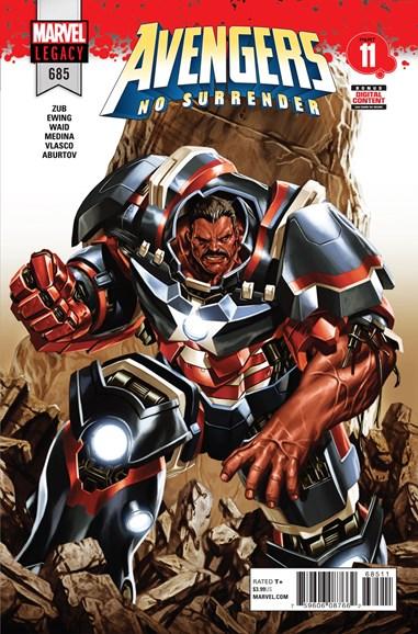 Avengers Cover - 5/13/2018