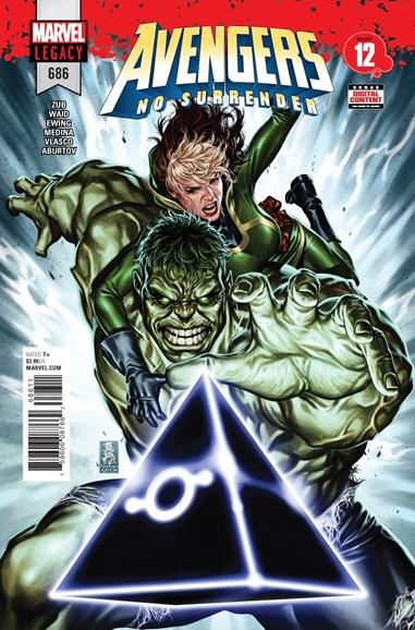 Avengers Cover - 5/20/2018