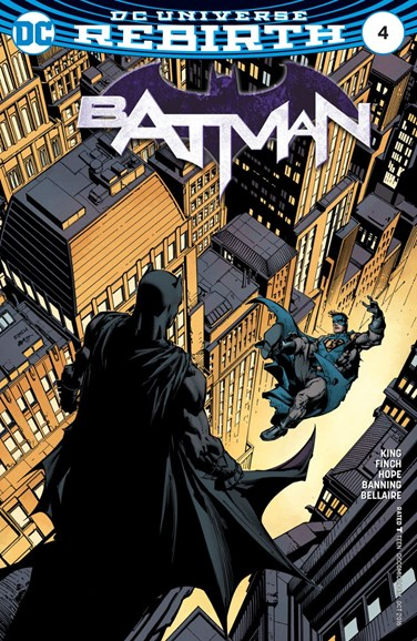 Batman Cover - 10/1/2016