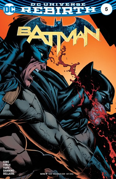 Batman Cover - 10/15/2016