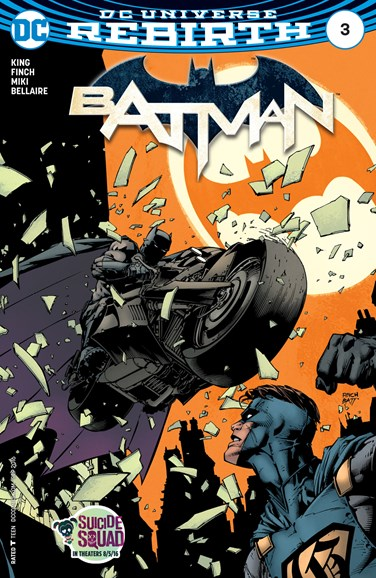 Batman Cover - 9/15/2016