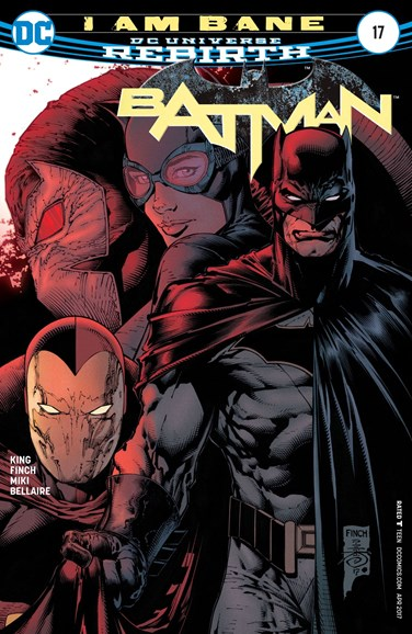 Batman Cover - 4/15/2017
